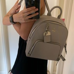 KATE SPADE YORK CARTER CADEN SOFT TAUPE BACKPACK
